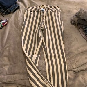 Bullhead striped jeans from Pacsun